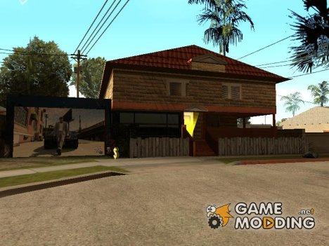 Новые текстуры дома  Cj-я for GTA San Andreas