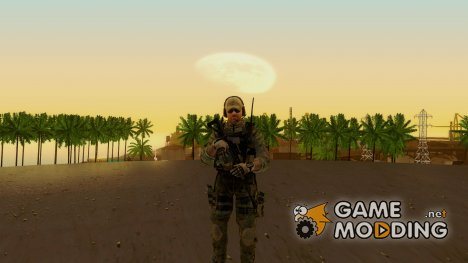 Grinch from Modern Warfare 3 для GTA San Andreas