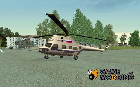 Вертолет полиции РФ for GTA San Andreas