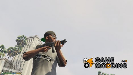 PAYDAY 2 MP5A4 foregrip 1.9.1 for GTA 5