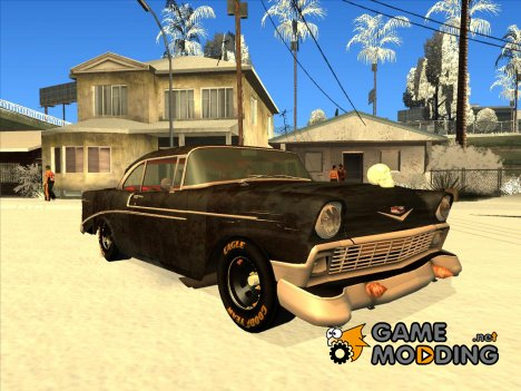 Chevrolet Bel Air 1956 Rat Rod Street для GTA San Andreas