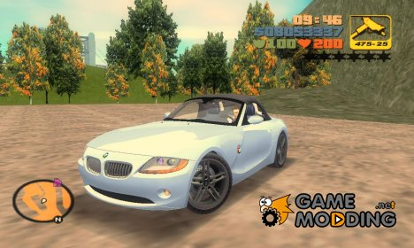 "BMW Z4 V10 ""TT Black Revel"" для GTA 3"