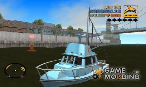 Reefer из GTA SA для GTA 3