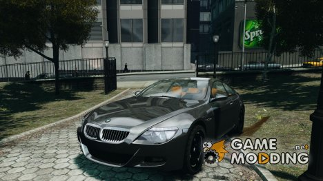 BMW M6 G-Power Hurricane for GTA 4