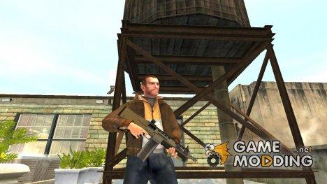 Дробовик из GTA 5 v.1 для GTA 4