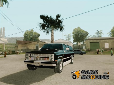 Chevrolet Suburban '86 для GTA San Andreas