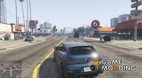 Спидометр для GTA 5