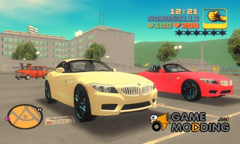 "BMW Z4 V10 2011 ""TT Black Revel"" for GTA 3"