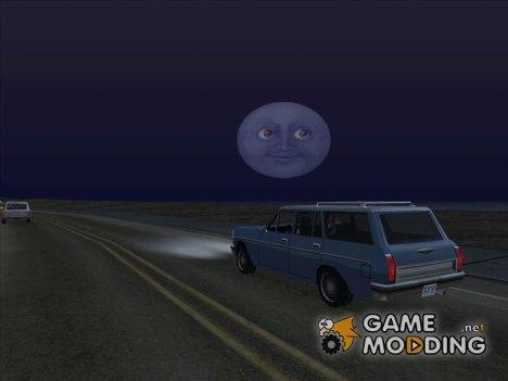 Луна смайлик for GTA San Andreas