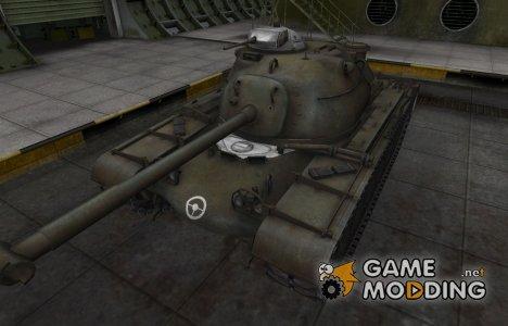 Зоны пробития контурные для M48A1 Patton для World of Tanks