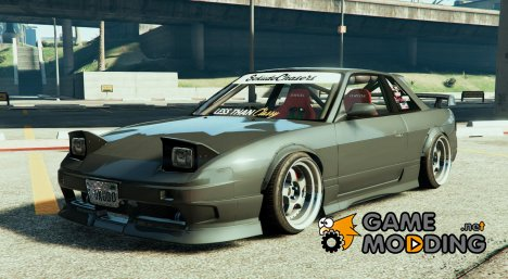 1989 Nissan 240SX S13 OneVia for GTA 5