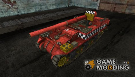 Шкурка для M12 (Вархаммер) для World of Tanks