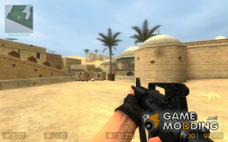 Soul_Slayer's M4A1 Normal для Counter-Strike Source
