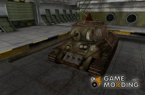 Ремоделинг Т-34-85 со шкуркой для World of Tanks