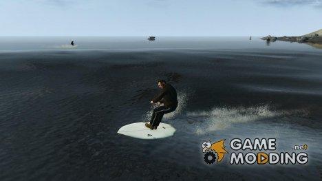 Доска для сёрфинга для GTA 4