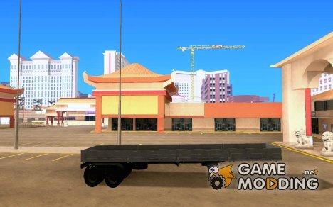Прицеп НЕфаЗ 93344 for GTA San Andreas
