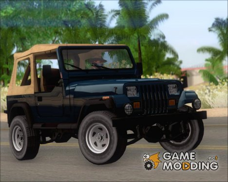 Jeep Wrangler for GTA San Andreas