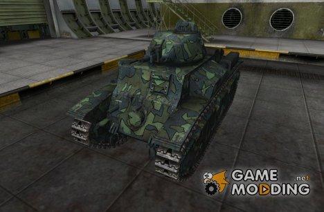 Шкурка для D2 для World of Tanks