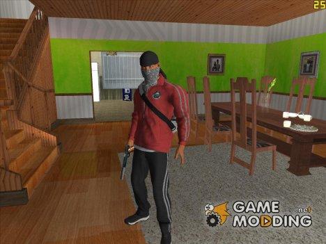 Gangster из Battlefield Hardline для GTA San Andreas