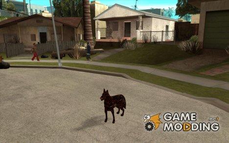 Цербер из Resident Evil 2 for GTA San Andreas