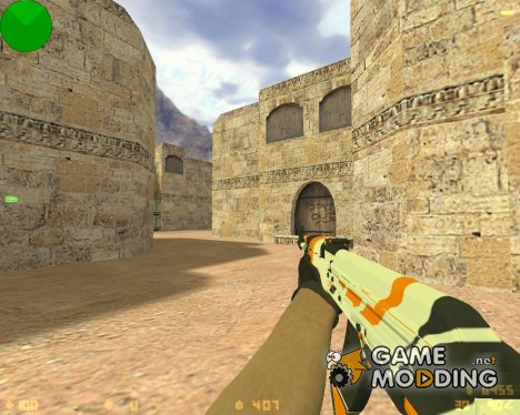 AK-47 Asiimov для Counter-Strike 1.6
