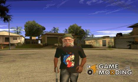 "Футболка ""Злая собака"" для GTA San Andreas"