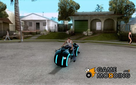 Tron Bike (Version 3, Final) для GTA San Andreas