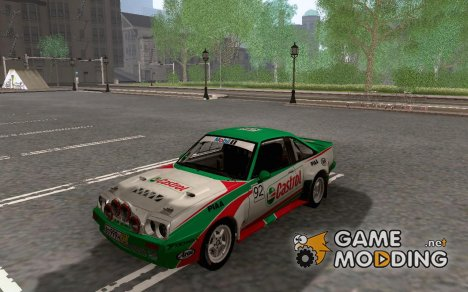 Opel Manta 400 for GTA San Andreas
