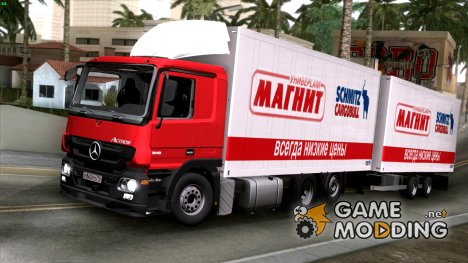"""Mercedes-Benz 500 """"Магнит"""" для GTA San Andreas"""