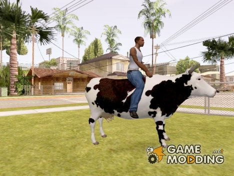 Езда на корове для GTA San Andreas