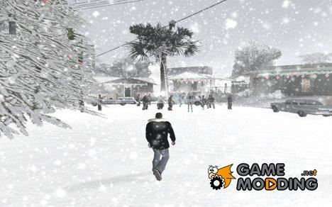 Зима for GTA San Andreas