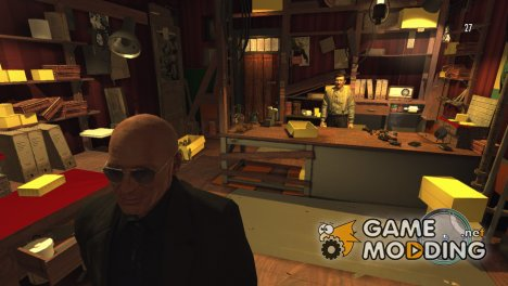 Обновлённый магазин Джузеппе для Mafia II