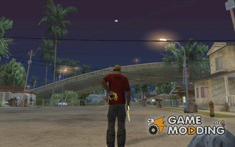 Достать/убрать 2 оружие, прикрутить/откуртить глушитель for GTA San Andreas