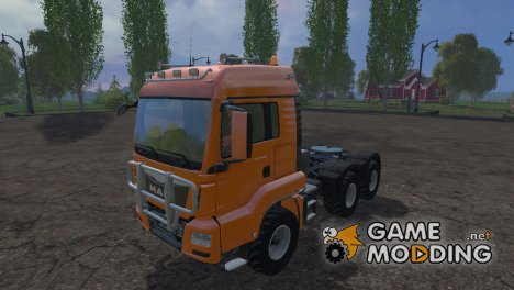 MAN TGS 18.440 6x6 for Farming Simulator 2015
