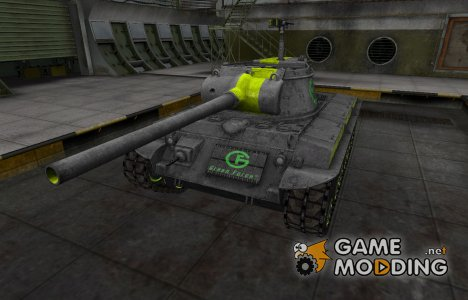 Скин для T25/2 с зеленой полосой для World of Tanks