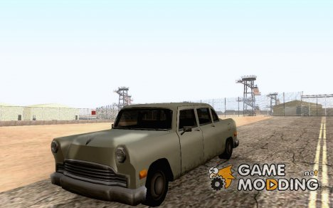 Civil Cabbie для GTA San Andreas