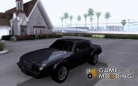 Buick Grand National 1987 for GTA San Andreas