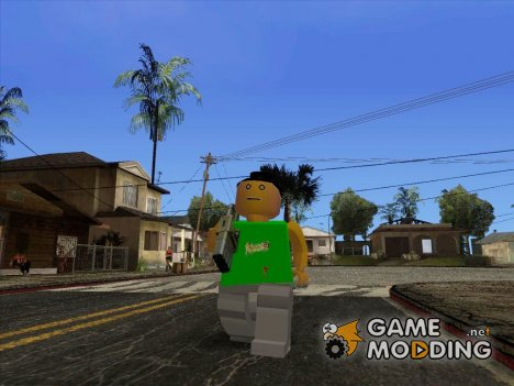 LEGO fam3 for GTA San Andreas