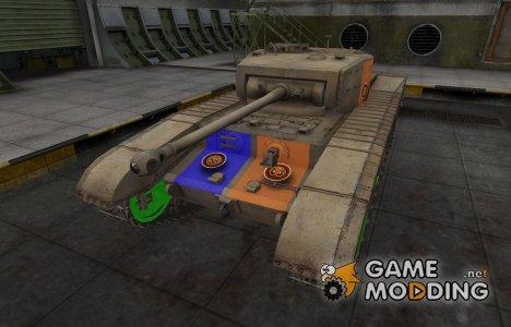 Качественный скин для Matilda Black Prince для World of Tanks