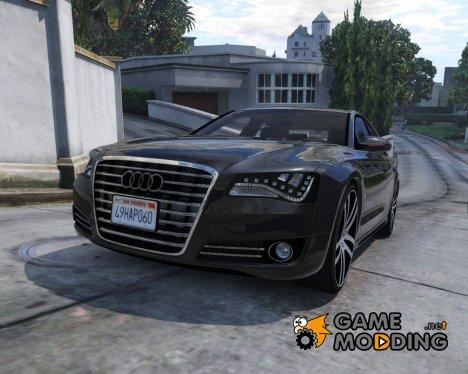 2012 Audi A8L W12 1.1 for GTA 5