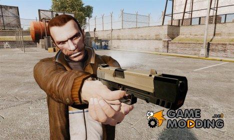 Самозарядный пистолет H&K USP v3 для GTA 4