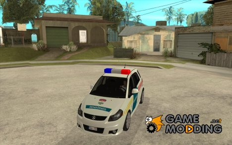 Suzuki SX-4 Hungary Police for GTA San Andreas