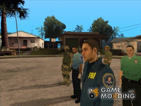HD Пак Государственных Структур for GTA San Andreas