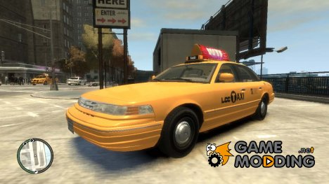 1995 Ford Crown Victoria LC Taxi для GTA 4
