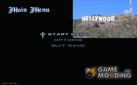 Новое меню в стиле Лос-Анджелес for GTA San Andreas