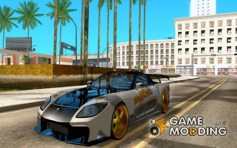 Mazda RX-7 MyGame Drift Team для GTA San Andreas