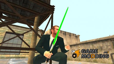 Лазерный меч Star Wars v.2 for GTA 4