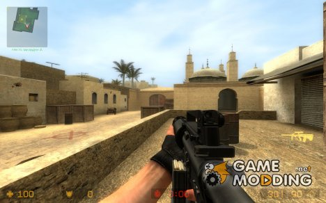 Machine M4 for Counter-Strike Source