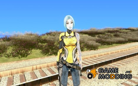 Maya from Borderlands 2 для GTA San Andreas
