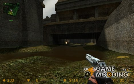 chrome Ultra Deagle для Counter-Strike Source
